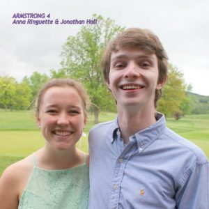 Anna Ringuette and Jonathan Hall