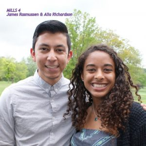 James Rasmussen and Alia Richardson