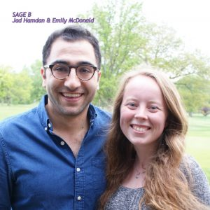 Jad Hamdan and Emily McDonald