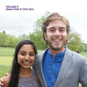 Neena Patel and Chris Zaro
